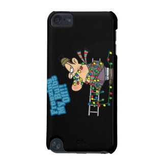 freezing my bulbs off xmas lights funny cartoon iPod touch 5G covers