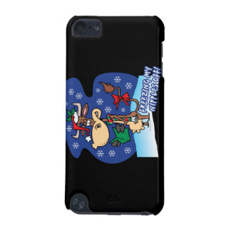 freezing my nipples off funny xmas cow iPod touch 5G case