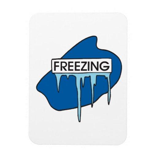 Freezing Rectangle Magnets