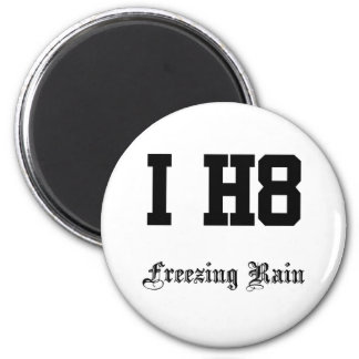 freezing rain fridge magnet
