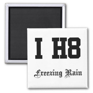 freezing rain refrigerator magnet