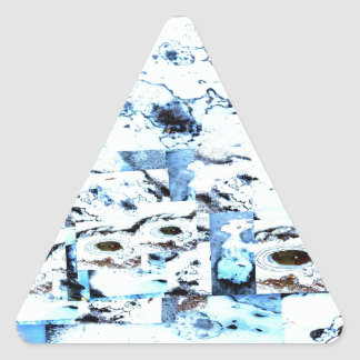 Freezing Triangle Sticker