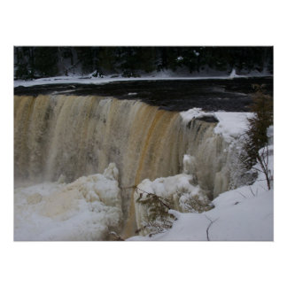 Freezing Tahquamenon Falls Photograph Print