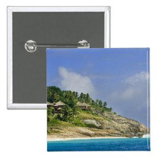 Fregate Island resort PR) 15 Cm Square Badge