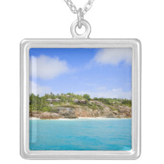Fregate Island resort (PR) Silver Plated Necklace
