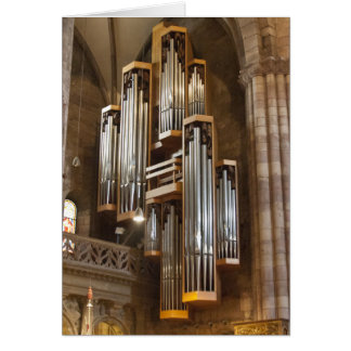 Freiburg Cathedral organ Card