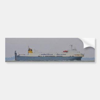 Freight Ferry Victorine Bumper Stickers