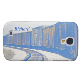 Freight Train Galaxy S4 Case