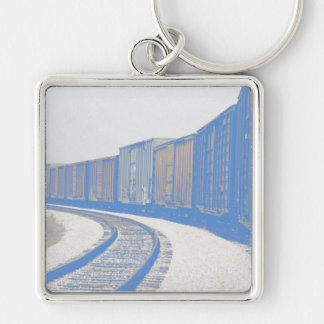 Freight Train Key Ring