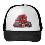 Freightliner Cascadia Red Truck Trucker Hat
