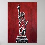 Freiheitsstatue – Libertas Plakatdruck