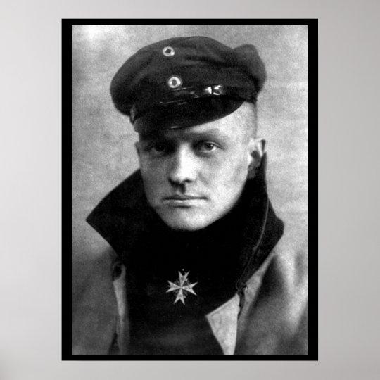 Freiherr Rittmeister von Richtofen_War Image Poster
