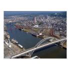 Fremont Bridge in Portland Oregon. Postcard