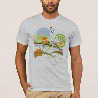 Fremont Bridge Portland T-Shirt