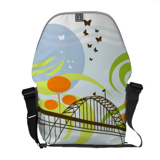 Fremont Bridge Rickshaw Messenger Bag