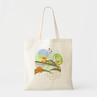 Fremont Bridge Tote Bag