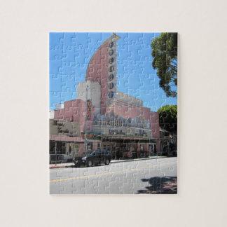 Fremont Theater, San Luis Obispo, CA Jigsaw Puzzle