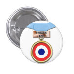 French Ace medal button
