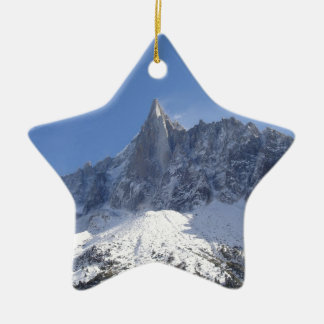 French Alps Ceramic Star Decoration