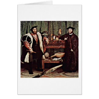 French Ambassador By Hans Holbein The Younger Cards
