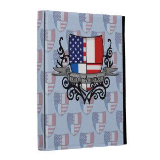 French-American Shield Flag iPad Case