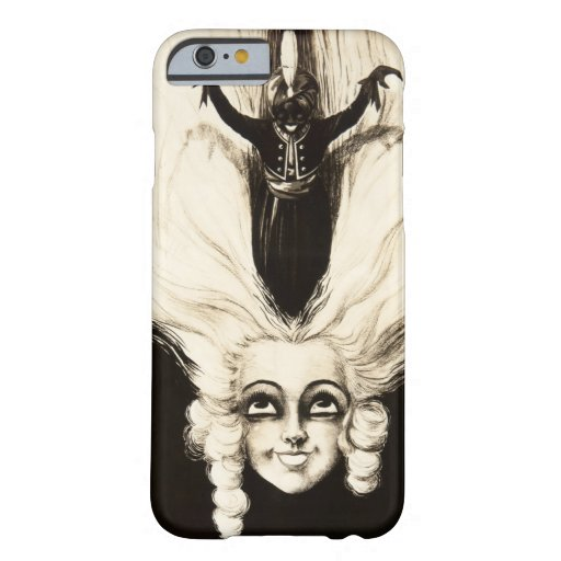 French Aristocrat Wig Hair Vintage Marionette iPhone 6 Case