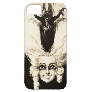 French Aristocrat Wig Hair Vintage Marionette iPhone 5 Cover