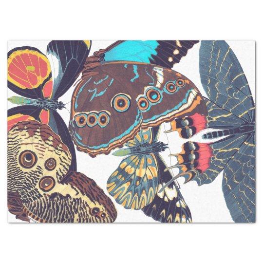 French Art Nouveau Butterflies Tissue Paper