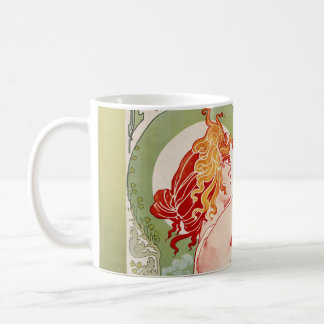 "French art nouveau poster ""absinthe Robette"" Basic White Mug"