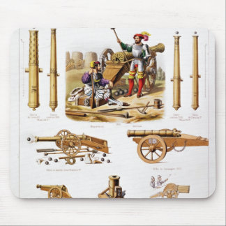 French artillery mouse mat