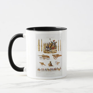 French artillery mug