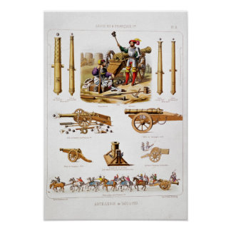 French artillery poster