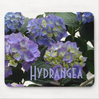 French Baby Blue Hydrangeas Mouse Mat