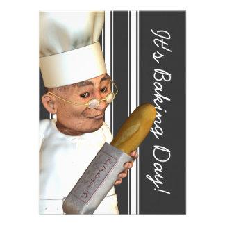French Baker Medium Event Invitations