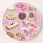 french bakery pastry cookies cake dessert coaster
