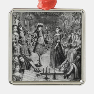 French Ball, Royal Almanac Christmas Ornament