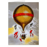 French Balloon Greeting Card