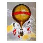 French Balloon Postcard