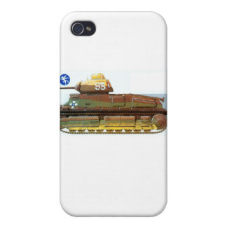 FRENCH BATTLE TANK iPhone 4/4S CASES