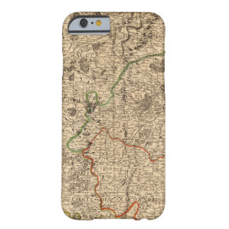 French battlefields and roads barely there iPhone 6 case