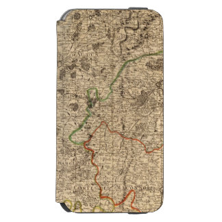 French battlefields and roads incipio watson™ iPhone 6 wallet case