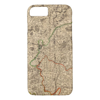 French battlefields and roads iPhone 7 case