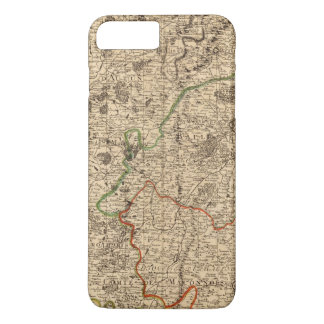 French battlefields and roads iPhone 8 plus/7 plus case