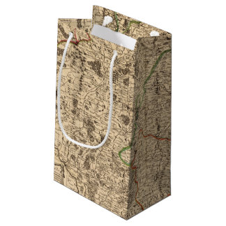 French battlefields and roads small gift bag