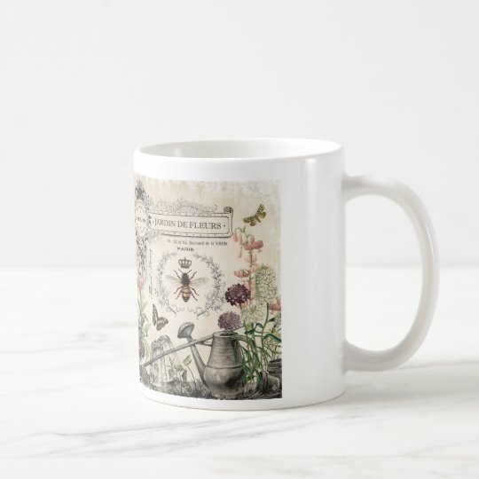 FRENCH BEE GARDEN COFFEE MUG