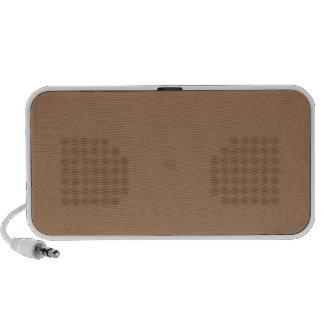 French Beige Mini Speakers