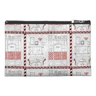 French Bistro Travel Accessory Bags