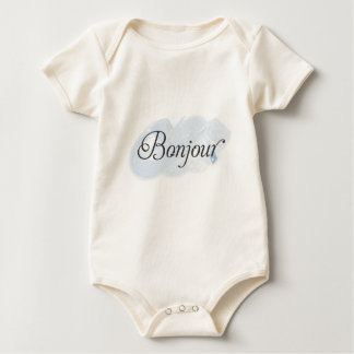 French Bonjour Baby Bodysuit