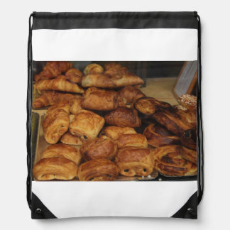 French bread by ProvenceProvence Drawstring Bags