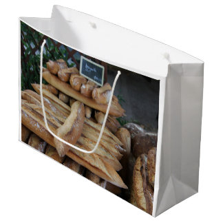 French bread by ProvenceProvence Large Gift Bag